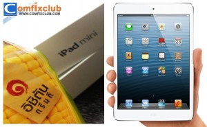 IICHITAN อิชิตันแจก iPad mini สีขาว