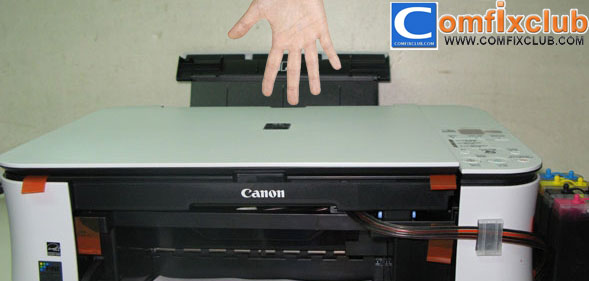 วิธีแก้อาการ Canon MP258 ขึ้น P03