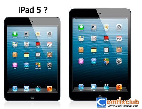 iPad 5 ข่าวลือว่าจะมาเดือนมีนาคม 2013