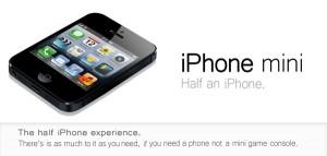 iPhone mini Price Rumor