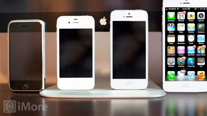 ข่าวลือ iPhone 6 จอ 5 นิ้ว และ iPhone 5S จะเปิดตัวปี 2013