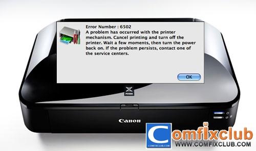 Canon Error 6502