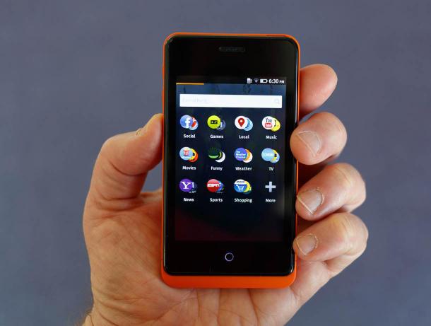 Mozilla แจกโทรศัพท์สำหรับนักพัฒนาที่เขียนแอพบน Firefox OS