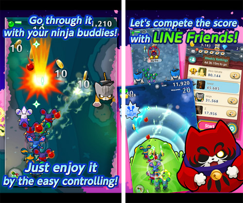 LINE Ninja Strikers