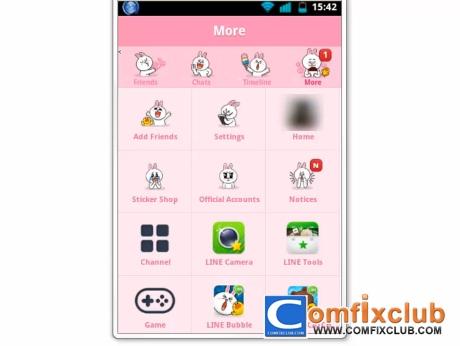 วิธีเปลี่ยน Theme LINE Android เวอร์ชั่น 3.7.0