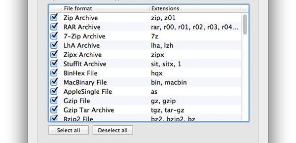 เปิดไฟล์ rar ใน mac ด้วย The Unarchiver | | Com250