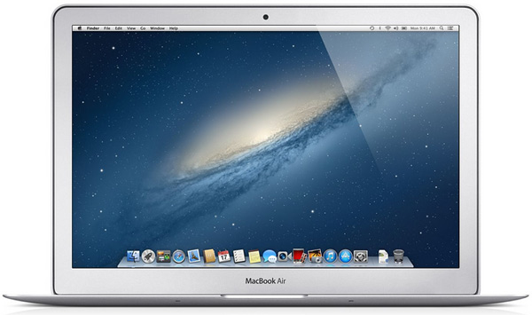The new Macbook Air 2013