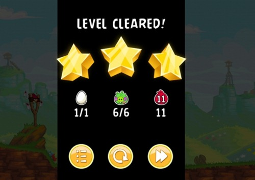 Angry Birds Reds Mighty level