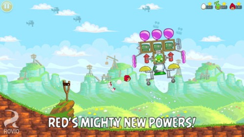 Angry Birds Reds Mighty