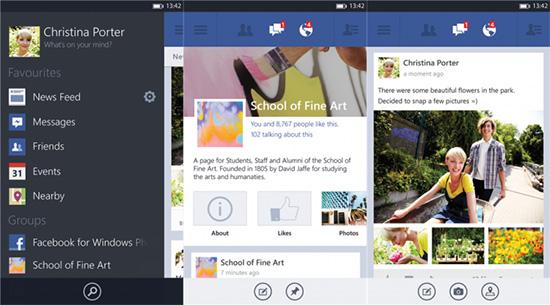 Facebook สำหรับ Windows Phone 8 ดาวน์โหลดได้แล้วใน Windows Phone Store